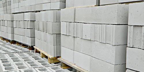 Стеновые блоки гладкие