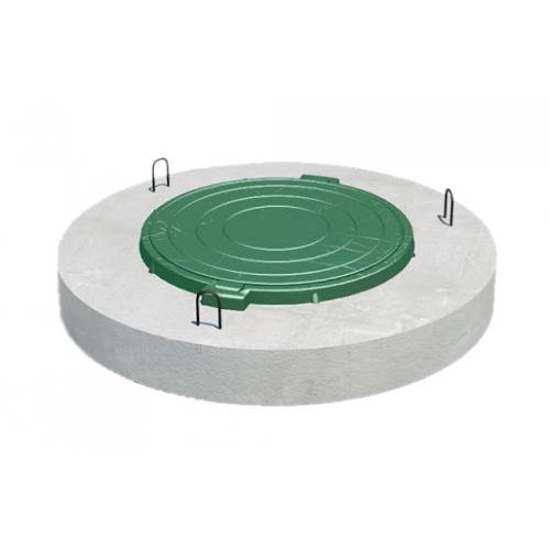 Плита перекрытия 1ПП 15-1 (150мм) с ЛПП d 1,5м