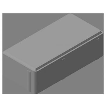 Плитка тротуарная «брусчатка» 60мм КЦТ-КК-11