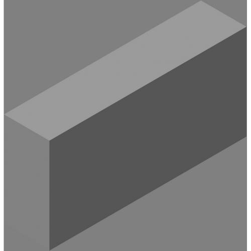Блок стеновой полнотелый СКЦ-КК-13