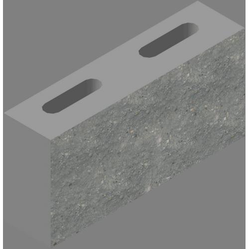 Блок стеновой декоративный (СКЦД-КК-33)