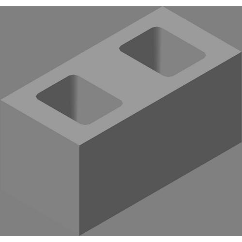 Блок одинарный гладкий СКЦ-КК-35