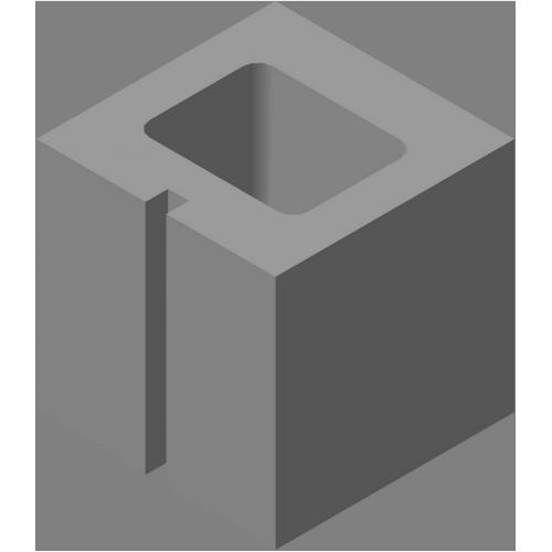 Блок стеновой добавочный СКЦ-КК-7
